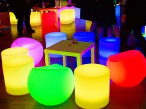 Décor mobilier lumineux - décor a thème loc deco nova