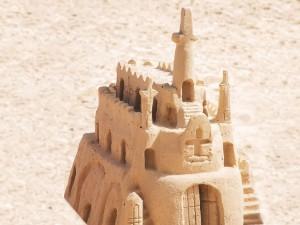 Château de sable nova pour atelier team building seminaire entreprise st malo vannes brest cherbourg deauville la baule