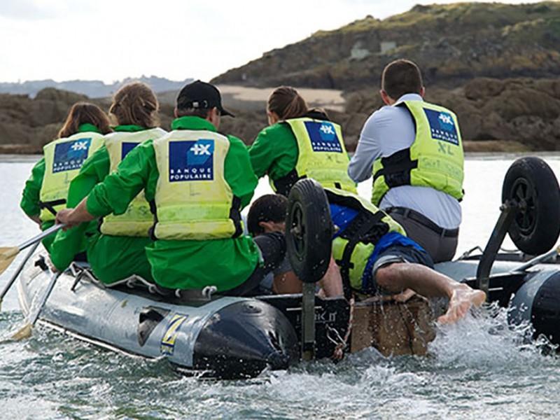Challenge nautique team building pour evenements entreprise ou seminaire