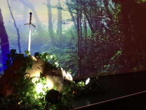 Celtic /  Breton décor à thème nova loc déco sur la mer, bretagne, legende arthurienne