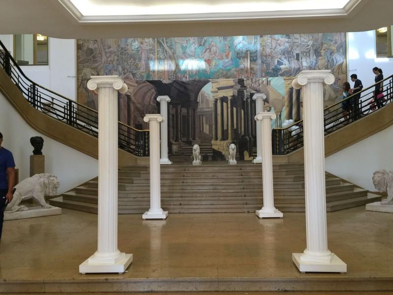 nova loc de d co sur le grece antique avec statue de venus