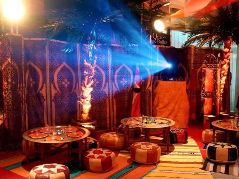 D cor oriental 1001 nuits st malo vannes le havre angers laval - Decor oriental salon ...