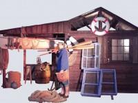 nova décor événementiel a thème pour la réalisation de décor mer, plage, village de pêcheur