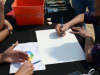 Atelier artiste peintre pour team building entreprise en Bretagne, Normandie...