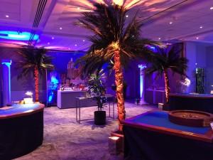 Las Vegas Paradise Soirée Casino Nova pour soirée et séminaire entreprise hôtel Mercure de Rennes.