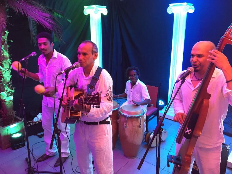 Groupe de musique cubaine pour soirée sous le soleil des tropiques