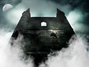 Château hanté décor à thème