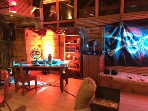 A l'abordage, jeu interactif Nova avec décor corsaire et pirate pour les soirées d'entreprise sur Saint-Malo, Lyon, Paris