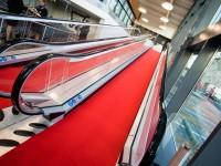 Tapis rouge pour inauguration ou événement d'entreprise