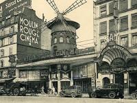 décor à thème Paris 1900