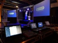 Pour les salons Nova propose des prestations diffusion vidéo sur St Malo, Rennes, Le Havre.