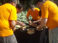 Jeux en bois pour challenge d'équipes d'entreprise en Bretagne, Centre, Normandie