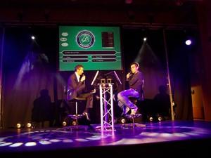 Jeu TV personnalisé soirée de gala pour les entreprises en séminaire sur Saint-Malo, Rennes Vannes, Brest.