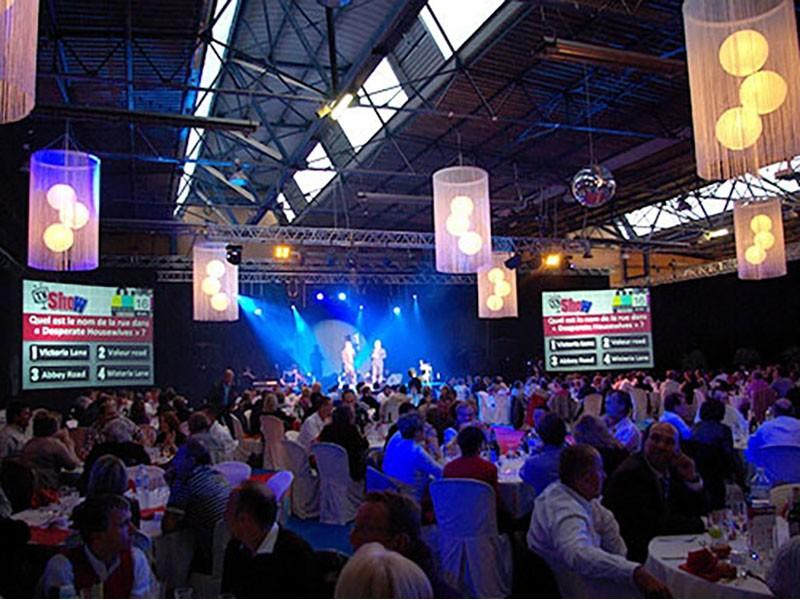 TV Show soirée de gala NOVA soirée à thème, animation à thème Saint-Malo