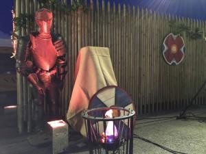 soirée médiévale armure