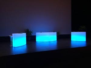 Décor mobilier lumineux - décor à thème location nova