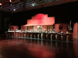 Parc exposition réalisation d'un convention réunissant plus de 1000 pers sur le thème du far West par Nova.