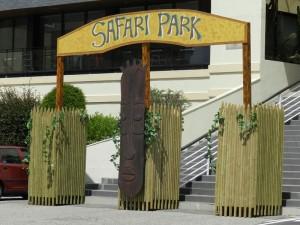 loc déco à thème savane, afrique, safari, jungle par nova prestation ou nova animation, décor, technique sur st malo, brest
