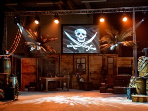 NOVA location decor a thème corsaire et pirate loc deco sur nantes, rennes, st malo, lorient, cherbourg, vannes, brest, caen
