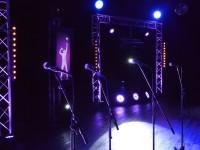 Jeu TV par Nova sur Vannes pour une soirée de gala. Mise en place sonorisation, éclairage, vidéo, animation.
