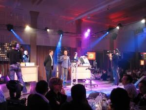 Soirée prestige pour les soirées d'entreprise, anniversaire, lancement de produit par Nova Animation Décor Technique.