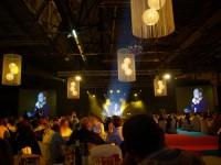 Véritable décor à thème pour les plateaux TV pour les soirées d'entreprise, convention, séminaire.