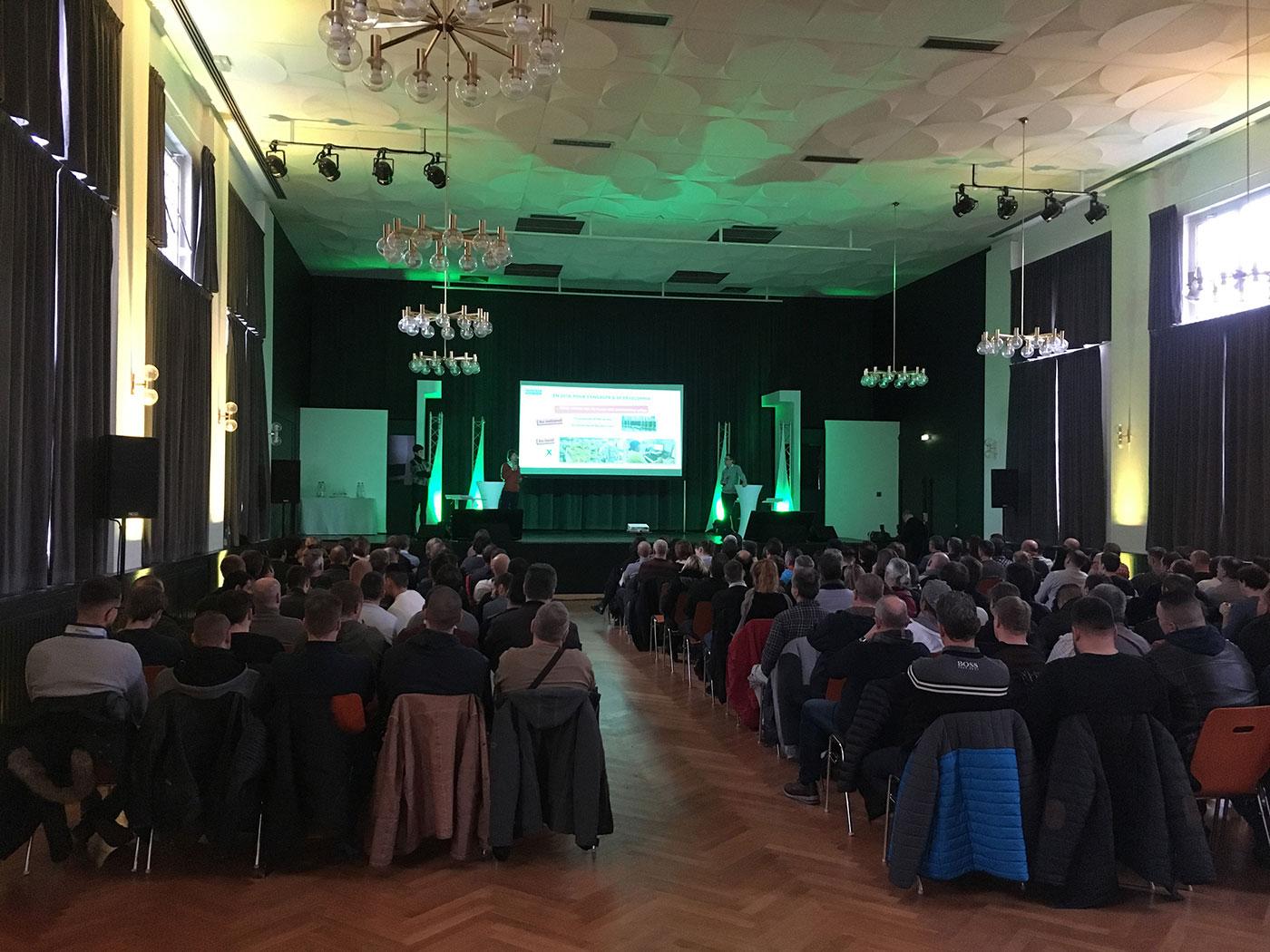 Prestation technique pour séminaire à Strasbourg le 11 janvier 2019